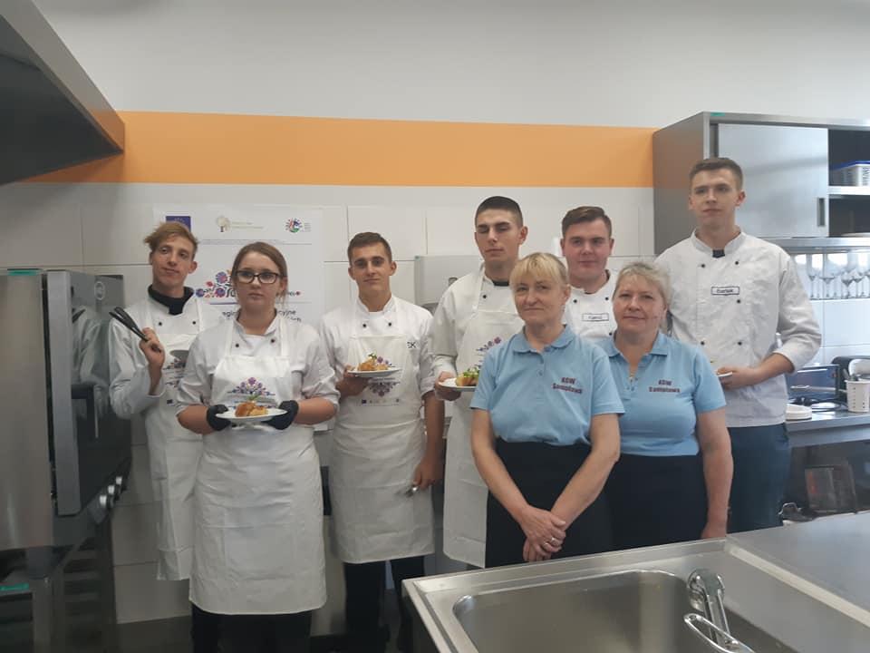 Ilustracja do informacji: Warsztaty kulinarne w Zespole Szkół Rolniczych w Ostródzie