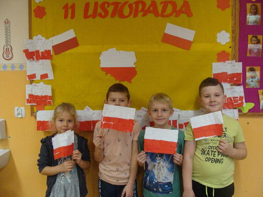 Ilustracja do informacji: Święto Niepodległości w Sampławie