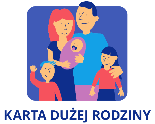 Ilustracja do informacji: Informacja dla posiadaczy Kart Dużej Rodziny