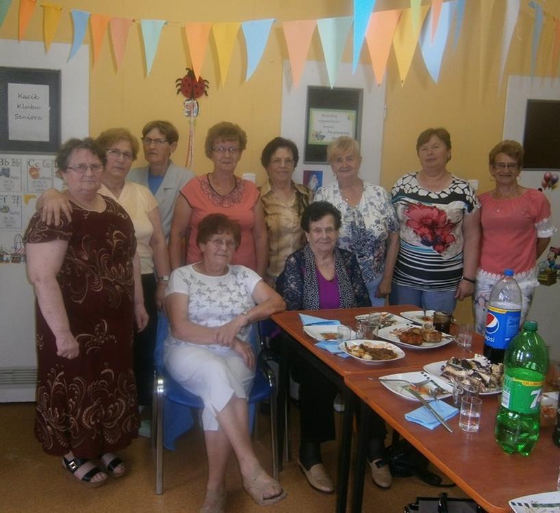 Ilustracja do informacji: Spotkanie Klubu Seniora w Łążynie